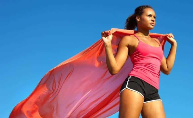 Exercising Superwoman (Medium)