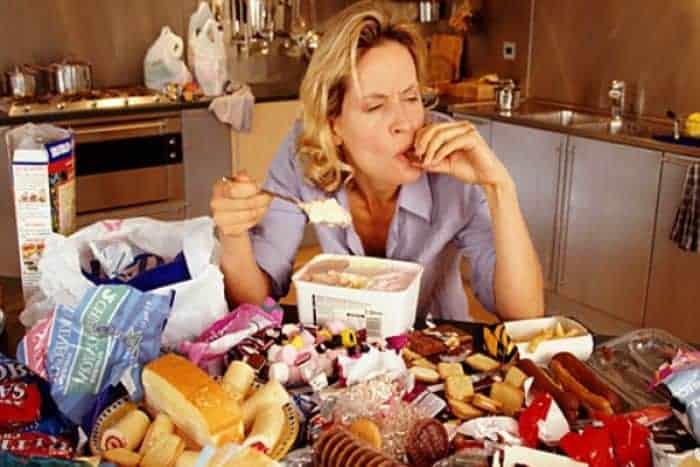 5.Trauma affects eating behavior