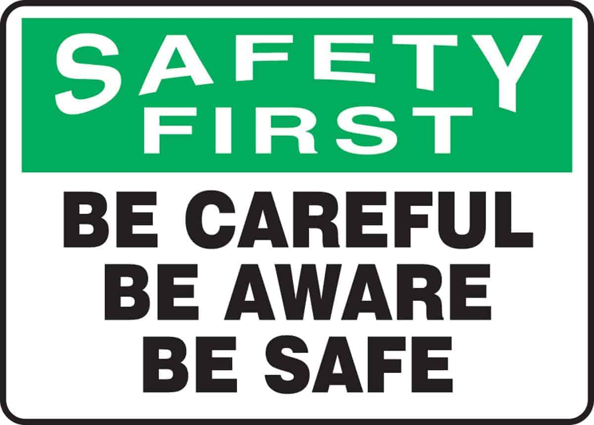 I feel safest