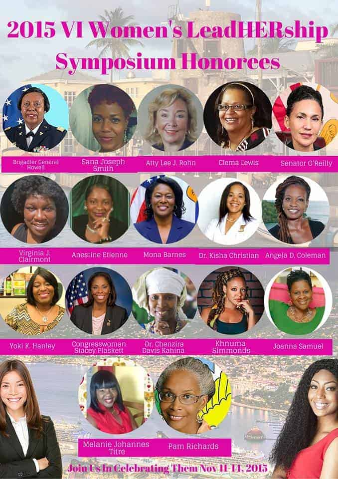 VI 2015 LeadHERship Honorees