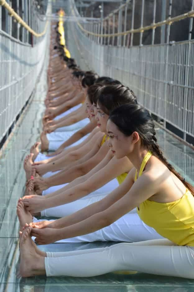 100-women-yoga-glass-bridge-3