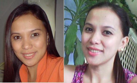 Before-and-after-use-of-skin-whitening-pills