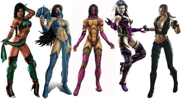 Women in Games Sexualized
