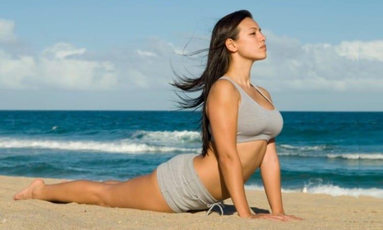 Yoga on the Beach large