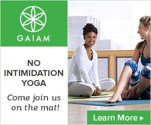 Gaiam No Intimidtion on the Mat