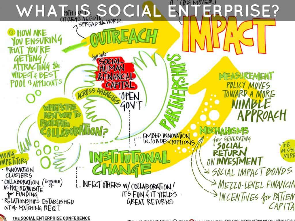 What is social enterprise david mcg