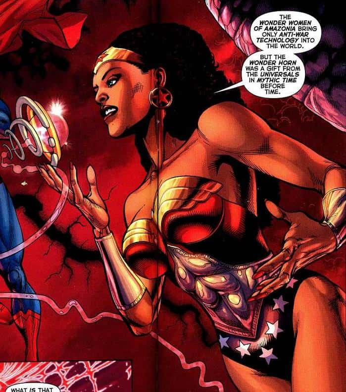 Nubia of Themyscira, DC Comics