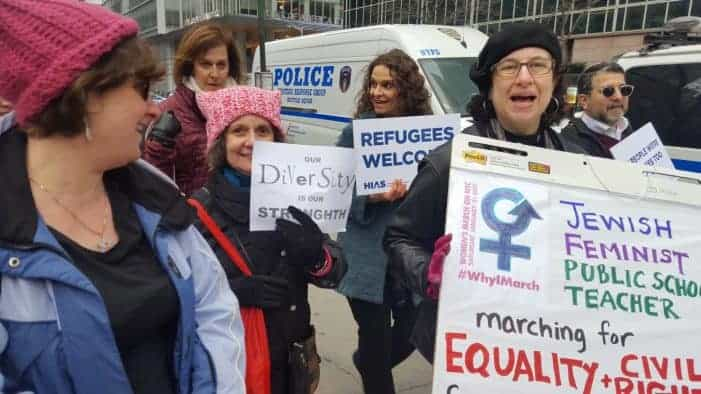 Womens March Angela D Coleman Sisterhood Agenda New York City2