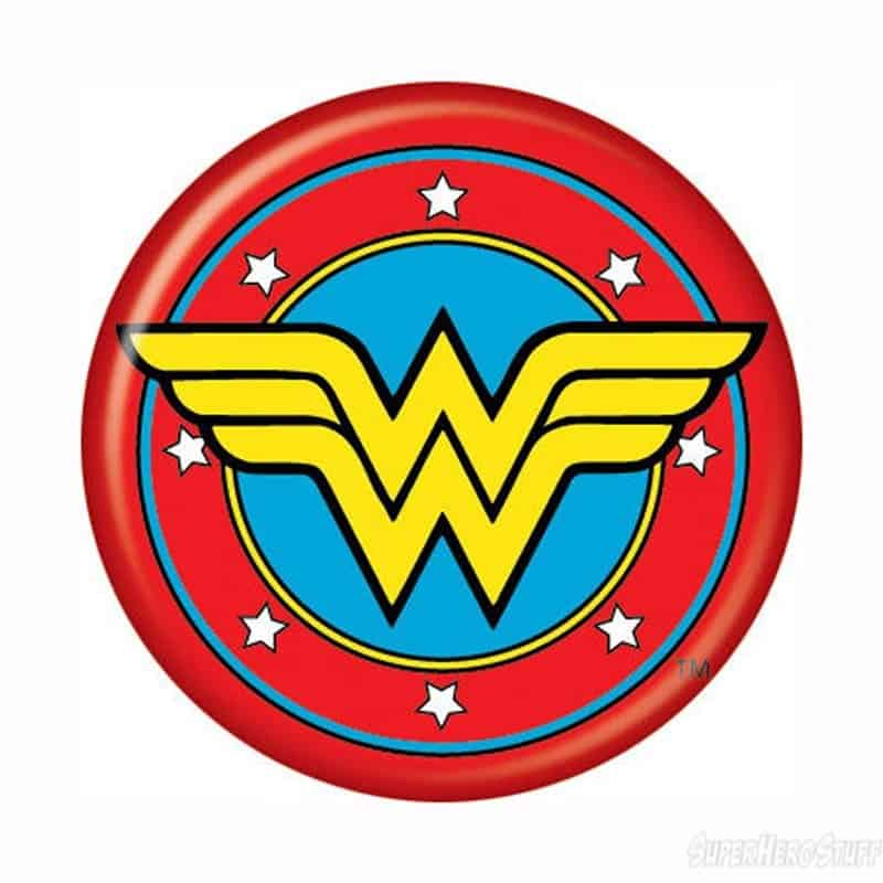 Wonder Woman logo watermark