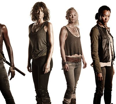 Strong Female Characters of The Walking Dead